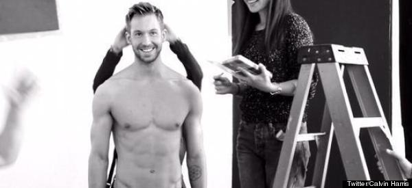 Calvin Harris Brightens Up Our Week By Going Shirtless