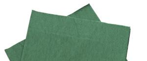 GREEN NAPKINS
