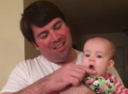 Baby Sings Impressive Christmas Carol With A Little Help From Dad