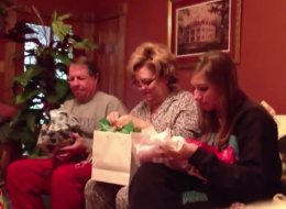 Watch These Parents Get The Best Christmas Present Ever -- One You Can't Buy