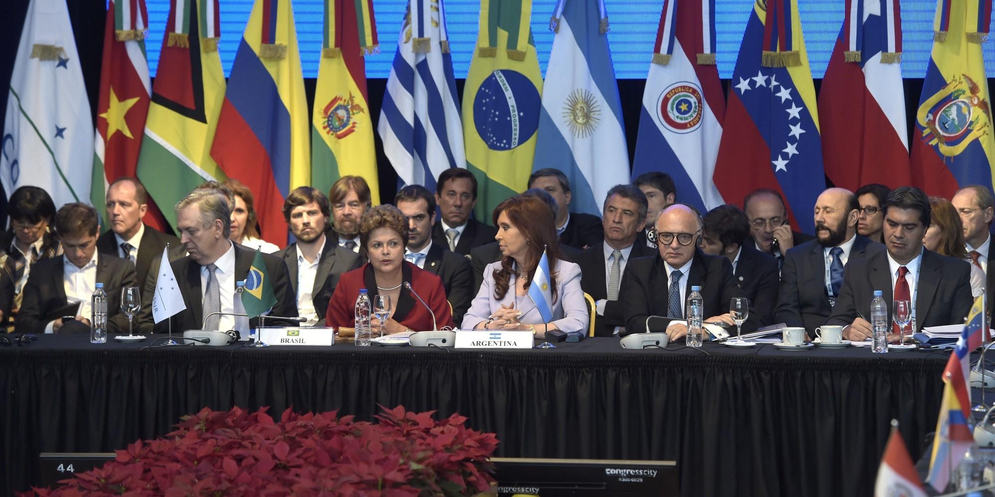 拉美諸國的粉紅領袖們,正面臨民心向右轉的嚴竣挑戰。(圖片來源:Juan Mabromata/Getty Images)