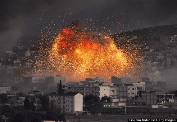 kobani bombing
