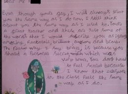 9-Year-Old Writes Adorable Letter To Gay Teacher