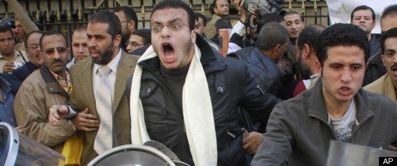 Egypt Protests : Thousands Fill Streets To Protest Mubarak On 'Jan 25' Today, Egyptians filled the streets to protest the government of Hosni Mubarak, who has governed Egypt for three decades.