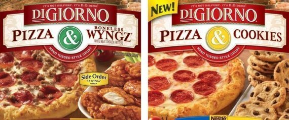 DIGIORNO PIZZA COOKIES SAME BOX WYNGZ WINGS