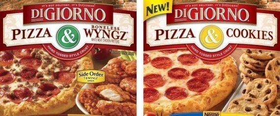 DIGIORNO PIZZA COOKIES SAME BOX WYNGZ WINGS