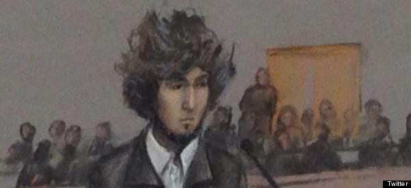 Dzhokhar Tsarnaev Appears In Court For First Time Since 2013