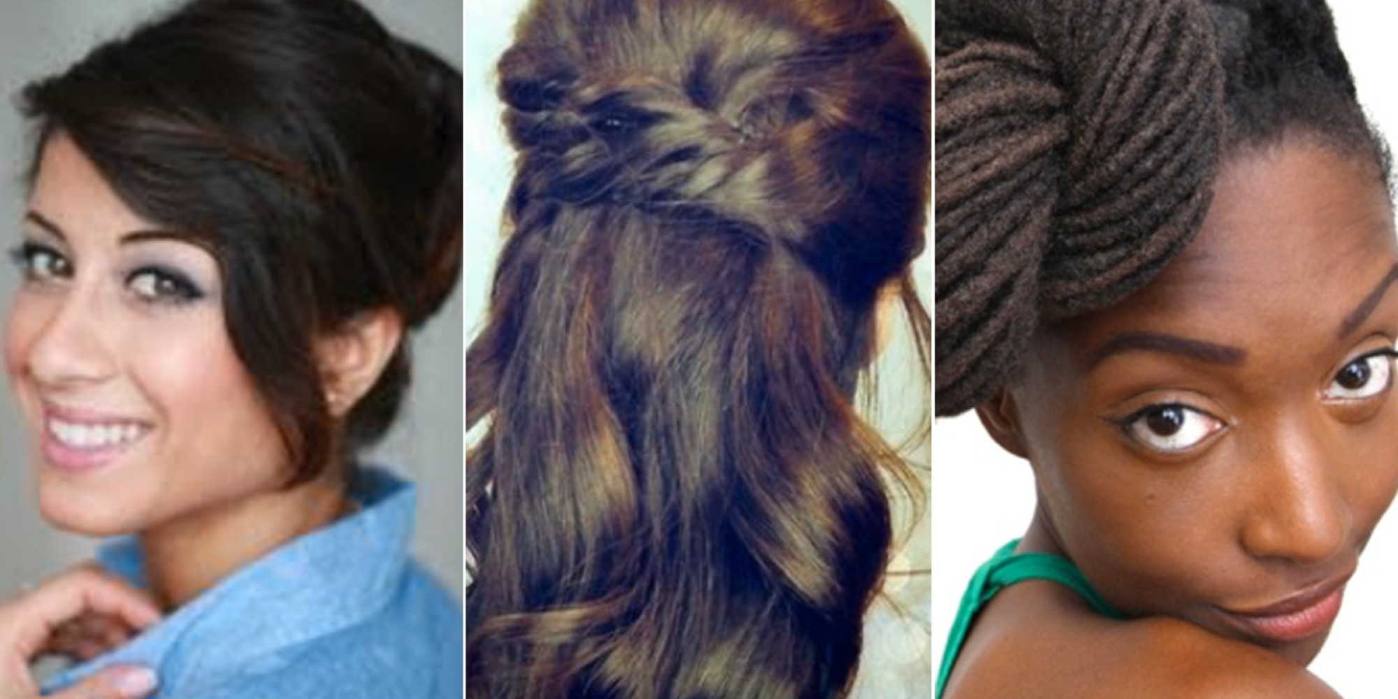 Cool Holiday Hairstyles You Can Do In Under 15 Minutes The Huffington Short Hairstyles Gunalazisus