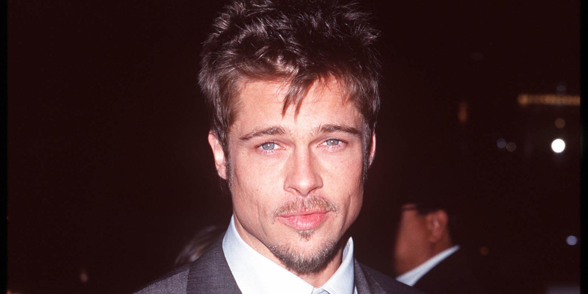 Brad Pitt's Hair Evolution Is Glorious Brad Pitt