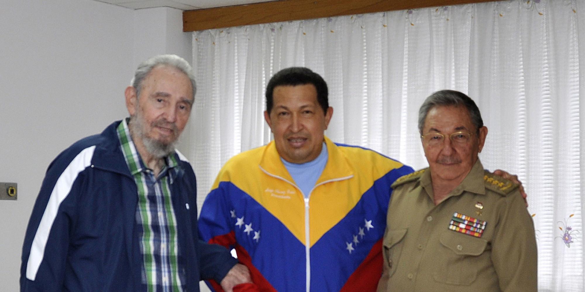 hugo chavez and fidel castro relationship