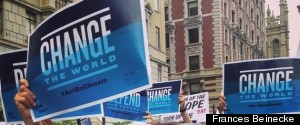 FRANCES BEINECKE CLIMATE MARCH