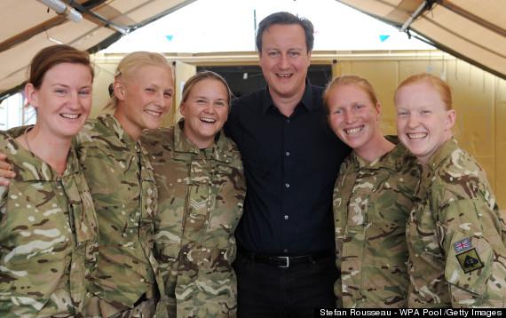 Female army uniform uk