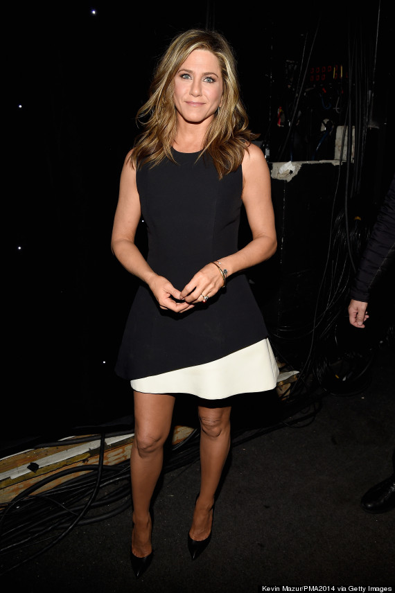 Jennifer Aniston Nails It In A LBD At People Magazine Awards | HuffPost