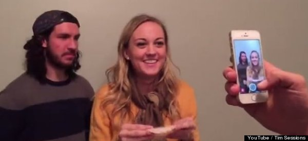 WATCH: Woman Slurps Turkey Slice, Heals America