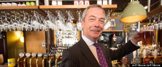 nigel farage beer