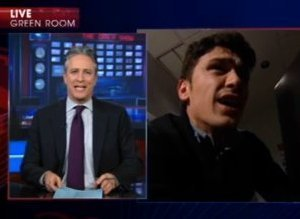 James Franco Daily Show
