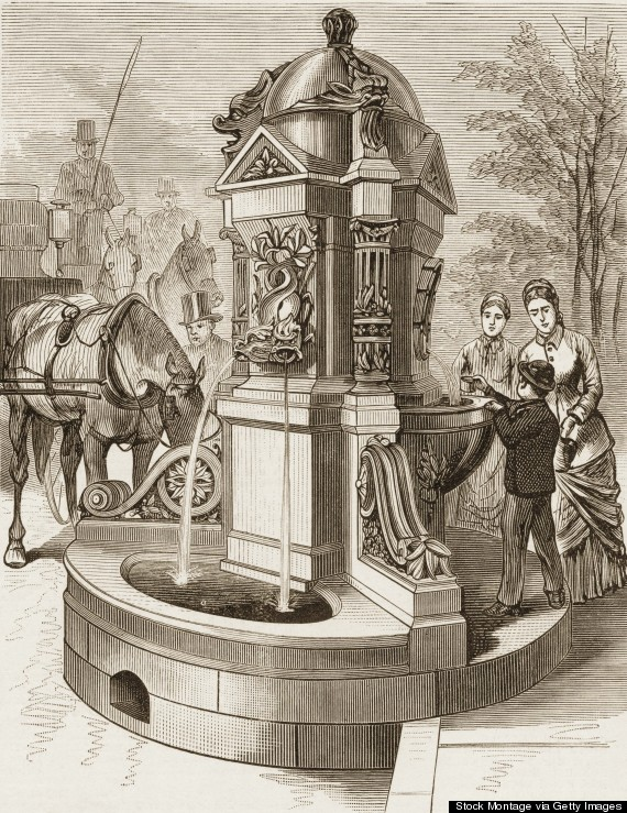 madison square drinking fountain