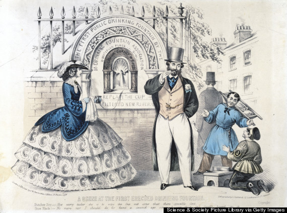 first london water fountain