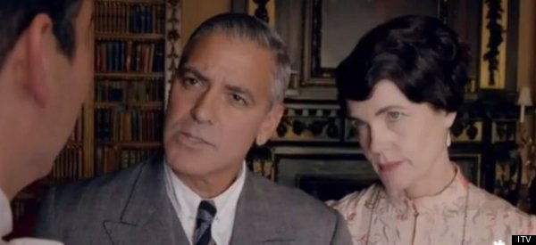 George Clooney's 'Downton' Appearance Is Everything We Hoped It Would Be