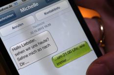 Schmutzige SMS | Bild: Bild.de