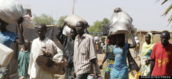 Elderly Nigerians, Unable To Flee Boko Haram, Rounded Up And Shot Dead
