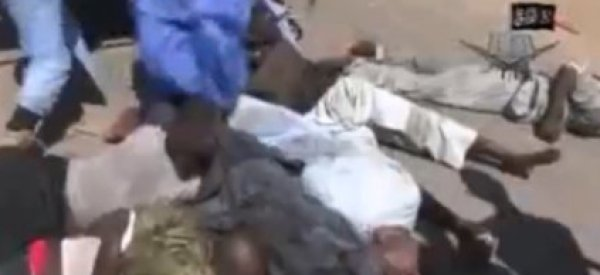 Boko Haram Slaughters Mass Of Captives In Horrific New Video