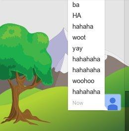 google hangouts smileys