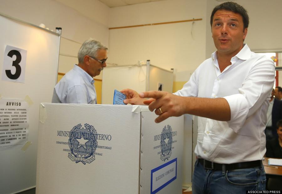 matteo renzi european elections
