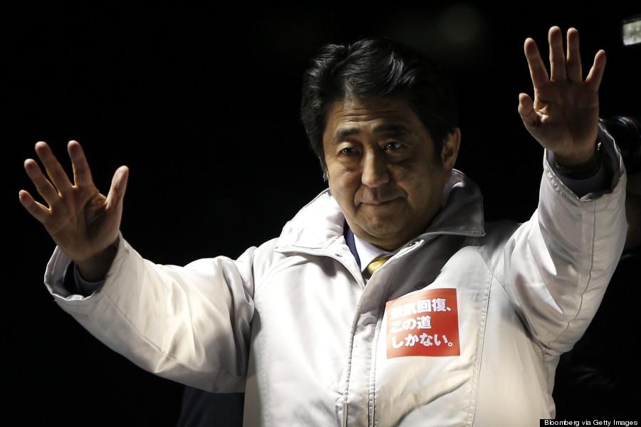 shinzo abe wins