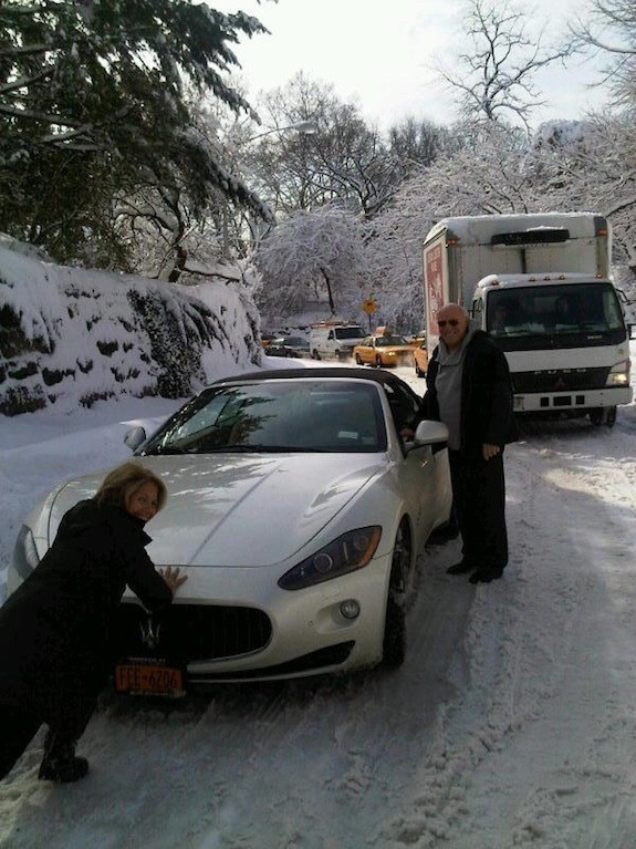 photo of Katie Couric Maserati - car