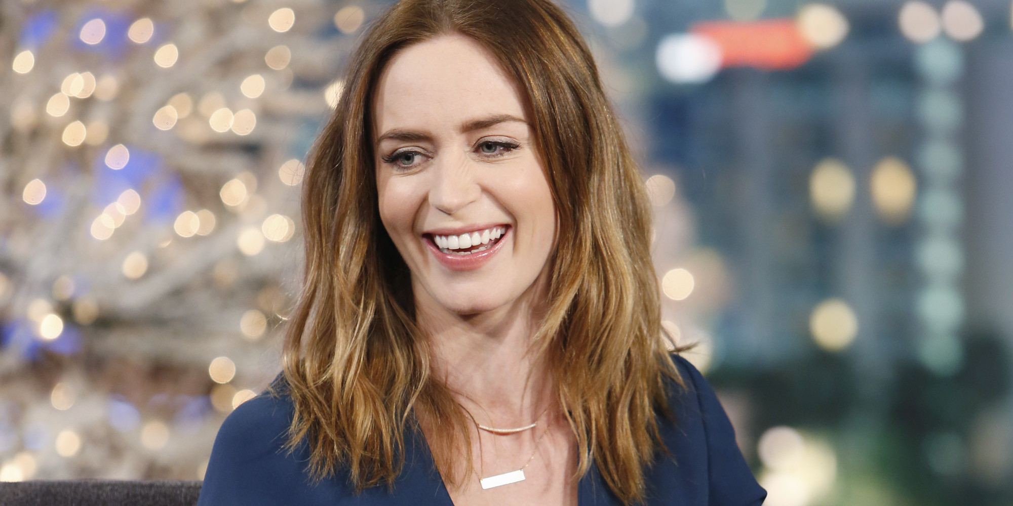 Why Emily Blunt Hopes To Become A Gay Icon | The Huffington Post Emily Blunt