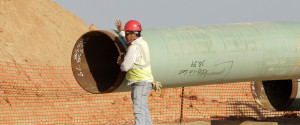 Oil Pipeline Building