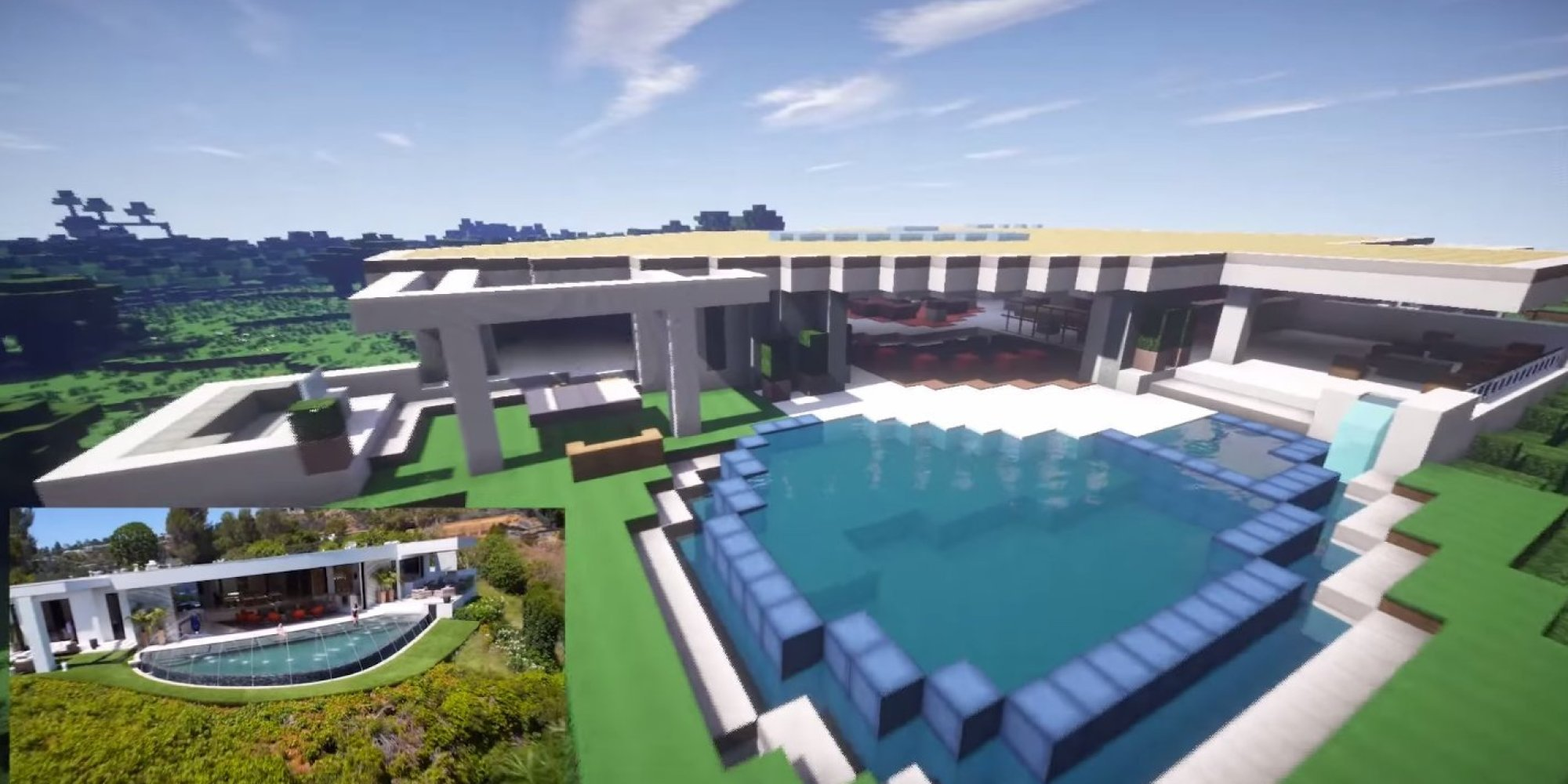 how to build mansion minecraft