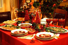 Weihnachtsessen   Bild: Corbis/Bialy Dorota