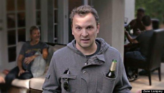 drinking jacket pocket