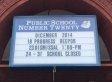 Principal Loses Job Over Misspelled School Sign