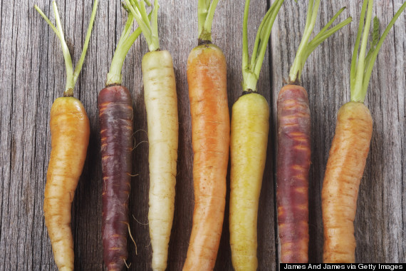 carrots not orange