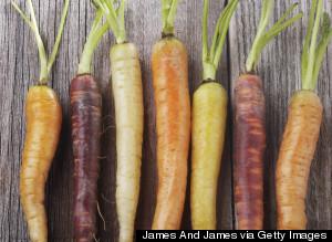 Carrots Not Orange