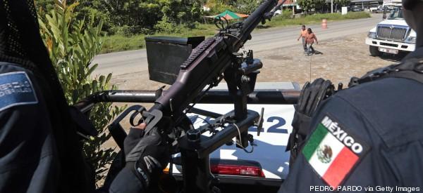 POLICÍA PARTICIPÓ EN<br>MASACRE DE 72 MIGRANTES