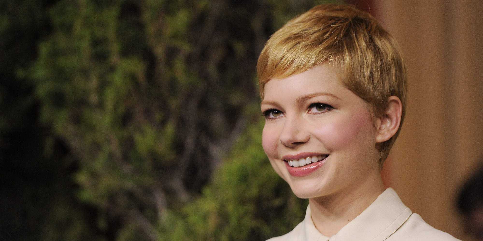 michelle williams short hair is a thing of the past