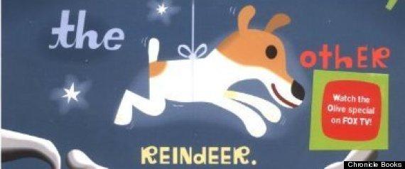 olive reindeer