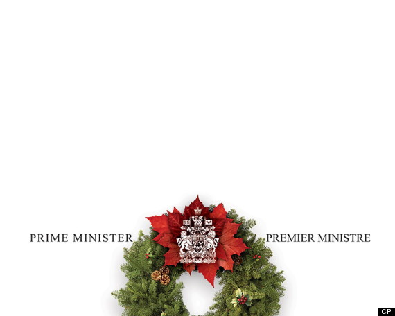 stephen harper christmas card