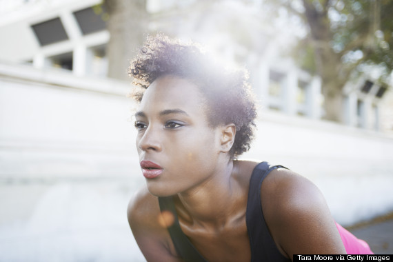 black woman exercising london