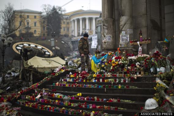 kiev memorial killed
