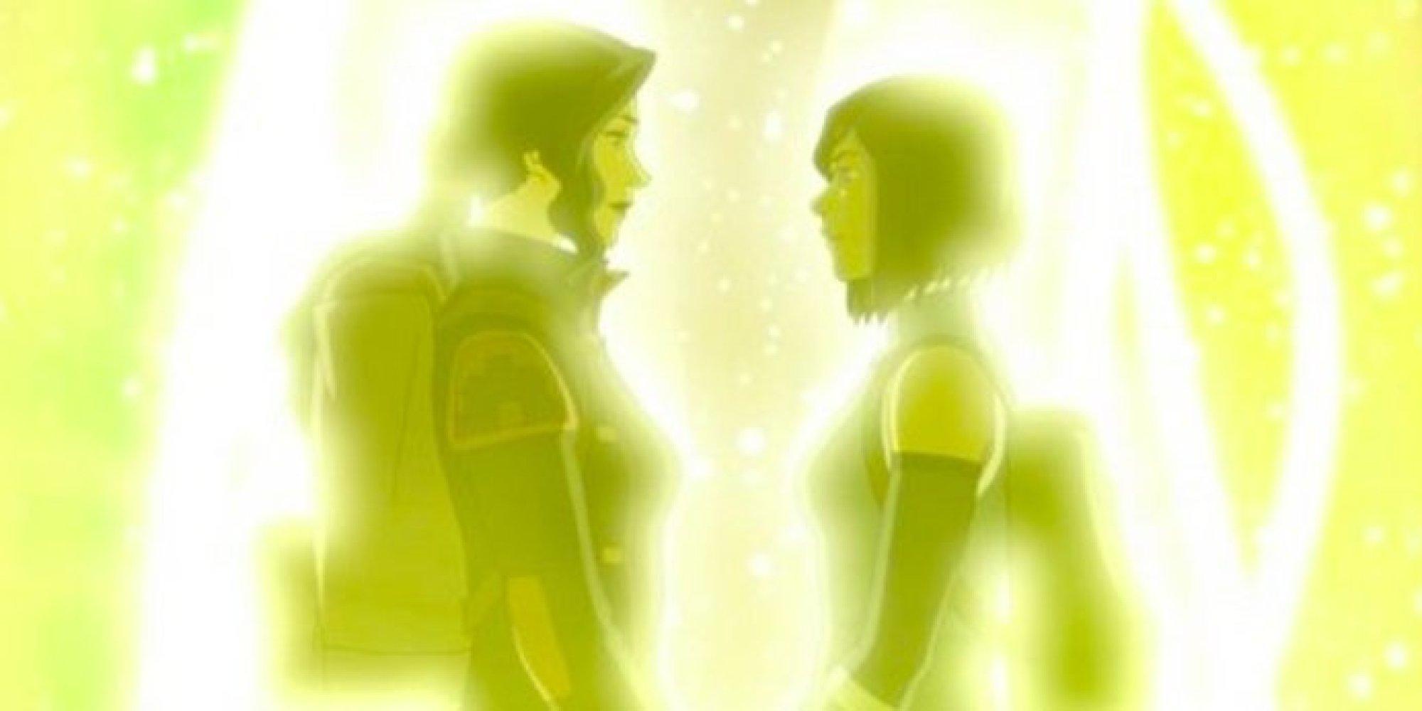 korra and asami kiss ending a relationship