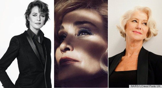 mature women beauty campaigns