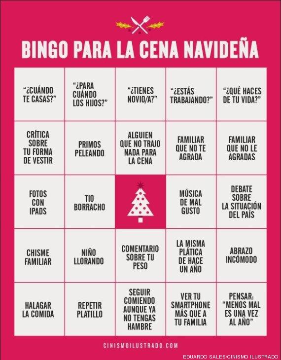 bingo cena navidad