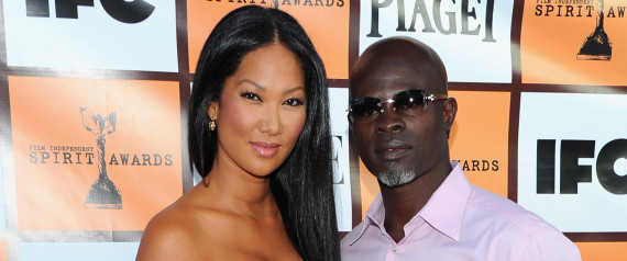 Kimora Lee Simmons Djimon Hounsou