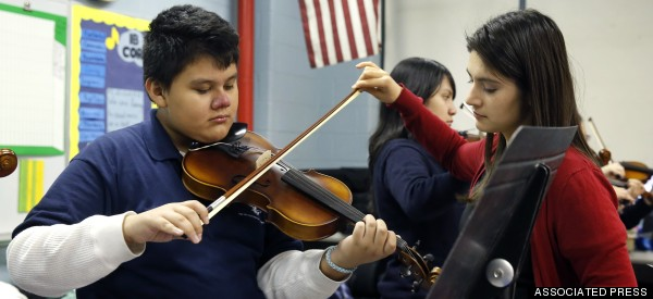 Mariachi Is Helping To Connect Schools, Hispanic Parents And Communities