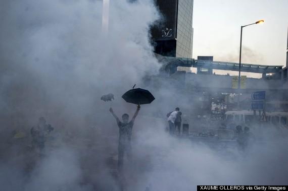 hong kong umbrella september 28